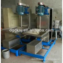 Máquina de secado centrífuga de plástico ABS / PS / PP