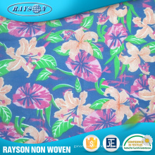 Colorful Printing Polypropylene Non Woven Cloth Material Fabric