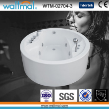 Rond de bain à remous acrylique autonome (WTM-02704-3)