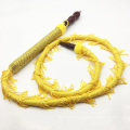 Yellow Whip Design Wooden Hookah Shisha Narghile Hose Pipe (ES-HH-007)