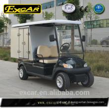 Chariots de golf électriques chinois remorques bon marché voiture de golf chariots utilitaire pour l'extérieur