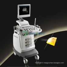 Trolley Color Doppler Ultrasound Machine