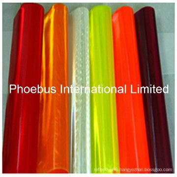 PVC Reflective Sheets, Reflective TPU Sheeting Variuos Colors