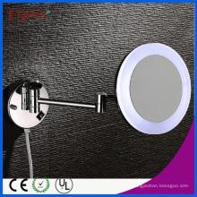 Fyeer Одиночная Сторона 8 дюймов складной круглый светодиодный косметическое зеркало