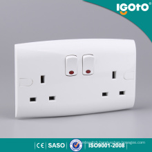 Igoto EL13-N Double 13A Switch Socket Socket