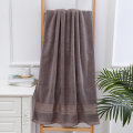 Toalla de playa de toalla de baño de algodón suave espesa para adultos
