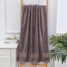 Toalha de banho de algodão macio para espessamento adulto Toalha de praia