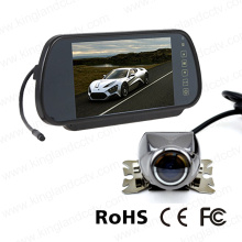 Зеркальный монитор 7 дюймов с мини-камерой