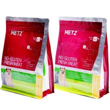 Beutel-flache untere Beutel-Hundefutter-Plastikverpackung