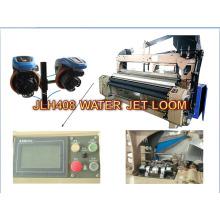 Máquina lisa do tear do jato de água do derramamento do bocal dobro de alta velocidade Jlh408