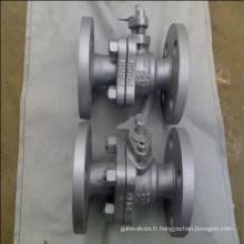 Clapet à bille flottant en acier au carbone API 6D A216 Wcb 150lb
