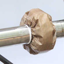 Anti-acid flange protective sleeve