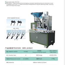 Máquina de friso automática da inserção da tomada do pino do pino 3 de 2 pinos, euro- plugue padrão