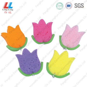 Flower Exfolicating Useful Bath Sponge