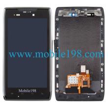para Motorola Droid Razr Maxx Pantalla LCD con digitalizador con carcasa frontal