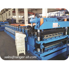 aluminium machine Corrugated tile roof roll forming machine