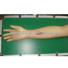 Modelo avanzado del brazo de la práctica de la sutura quirúrgica del ISO, brazo de sutura