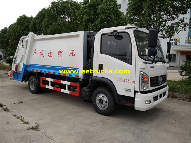 Dongfeng 105HP 5000L Compression Garbage Trucks