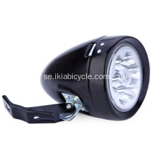Black Bike Headlight Bicycle Light Set