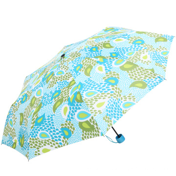 Strong Windproof promotional custom folding umbrella with logo
