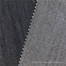 16X200D + 40D / 98X44 205Gsm los 147Cm marino llanura teñió el poliester poliester el algodón negro Elástico de la tela para las prendas