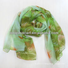 2013 Newest leaf printed scarf