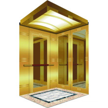 0.25-0.5 M / S Petite maison Villa Ascenseur avec cabine dorée