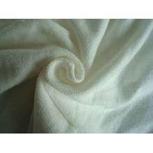 Tissu en coton en coton Terry Knit