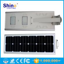 IP65 IP Rating e CE, RoHS, UL, CCC Certificação 20w tudo em um solar integrado levou luzes de rua preço