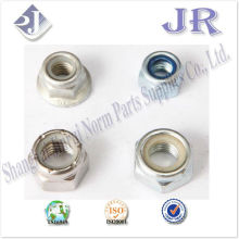 AISI/ASME HEX nylon NUTS plated ts16949 iso9001