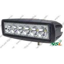 Lampe de travail à LED Epistar 18W pour la conduite de brouillard Lampe de conduite à LED