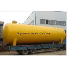 50, 000L tanque de armazenamento químico de 18bar de pressão média aço carbono para gás refrigerante amônia, cloro,