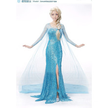 costume ball women cosplay costume frozen elsa dress wholesale