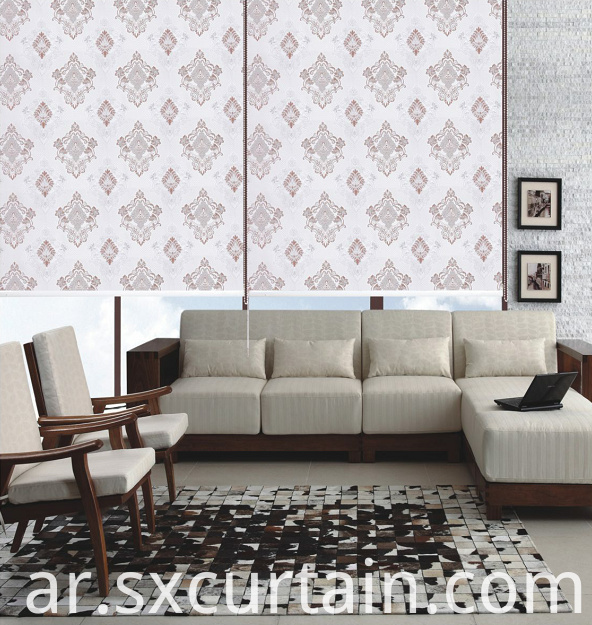 Roller Blind Curtain Shade Jacquard