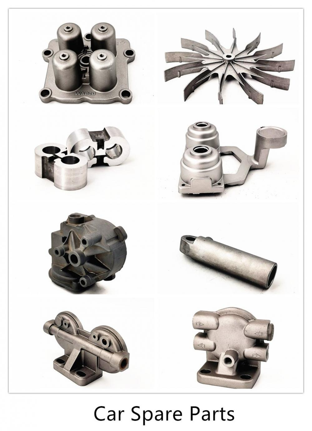 Aluminum Cast Auto Parts