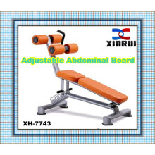 best selling Adjustable Abdominal Bench Fitness Equipment / Sit up Bench/ indoor gym equipment