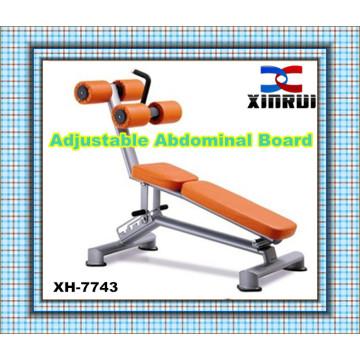 best selling Adjustable Abdominal Bench Fitness Equipment / Sit up Bench/ indoor gym equipment