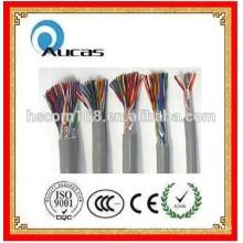 Intérieur / extérieur 0,4 mm - 0,5 mm Câbles de communication Multipair Câbles téléphoniques Multi Cores 20/25/30/50/100/200/300 paires