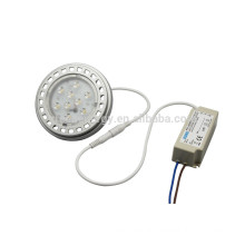 China supplier dimmable LED AR111 light 11w with external driver