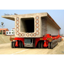 Mobile Tyre Trolley Used in Precast Yard