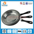 3pcs stainless steel fry pan set for induction cooker