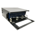 144 Fibers 4U ODF Rack Mounted Optical Distribution Frame mit hoher Dichte