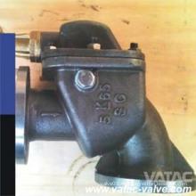 Marine Cast Iron / Duktile Eisen / Wcb / Lcb / Wc9 Winkel Sturmventil von Wenzhou
