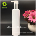 200ml 250ml white plastic pump bottle PET lotion shampoo Waist bottle