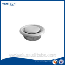 Air vent metal disc valve