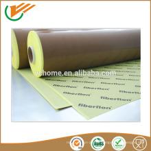 Vente chaude à prix bon marché en fibre de verre en ptfe teflon avec colle à haute température ptfe tape