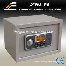 Caja LCD pantalla metal cajas fuertes en casa
