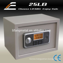 LCD screen metal home safes cash box