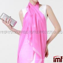 Lenço de tecido de caxemira, lenço de cachemira de tecido de peso
