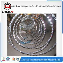Qualität verzinkter Stahl Rasierer Stacheldraht